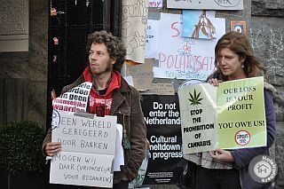 Pro cannabis protest
